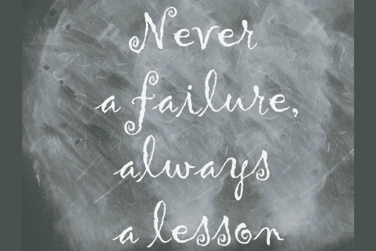 Au-delà de l'échec